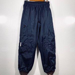Vintage Medium Nike Windbreaker Blue Track Pants